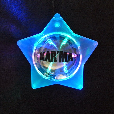 Custom Tunnel Star Necklace.  Prices as low as $1.60 each (for 1000 or more).  Turn time is 3-4 weeks.