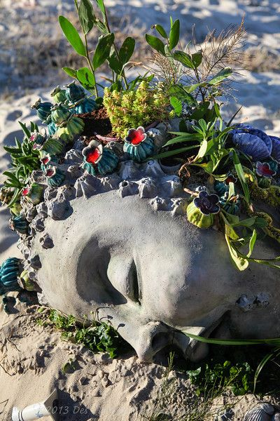 Mermaid, Monte Lupo - Swell Sculpture Festival 2013, Visit 1; Currumbin, Gold…