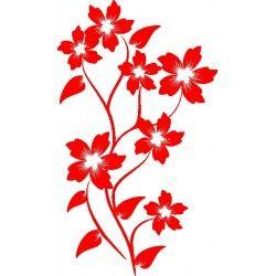autoaufkleber selber gestalten Wandblume 17