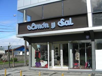 Tienda Limon y Sal en Temuco.  Diseño de autor.