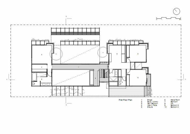 Sunshine Beach Pool House,Plan 2