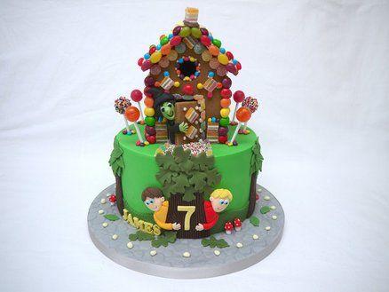 Hansel and Gretel Cake!  Cake by hellobabycakes