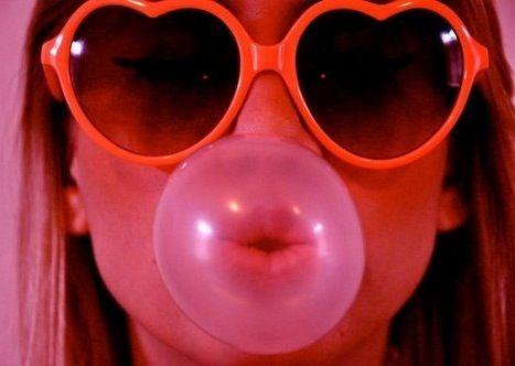 #heartshapedsunglasses #bubblegum #vintage