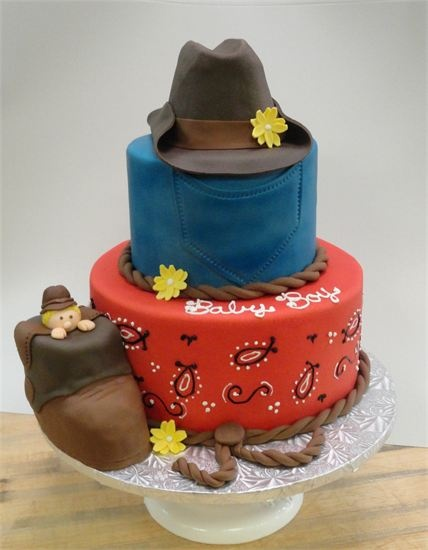 about cowboy baby shower cake on pinterest themed baby showers