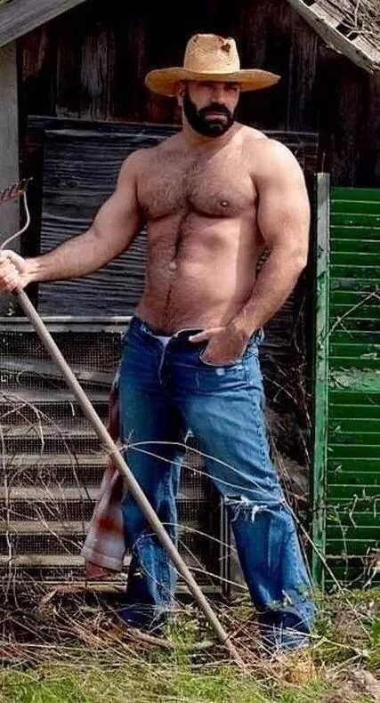 Gay naked farmer