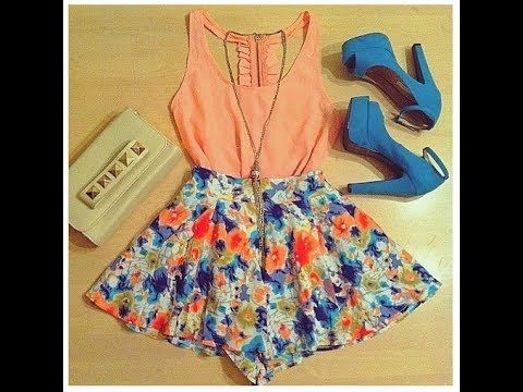Summer Lookbook 2014 | 25 Ideas/Outfits with Crop Tops