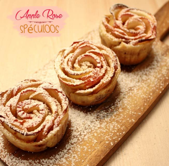 Recette Cakes Speculoos Pomme