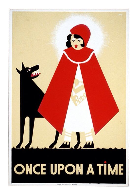 """Once upon a time"" Vintage Poster, available at 45x32cm. This poster is printed on matt coated 350 gram paper."