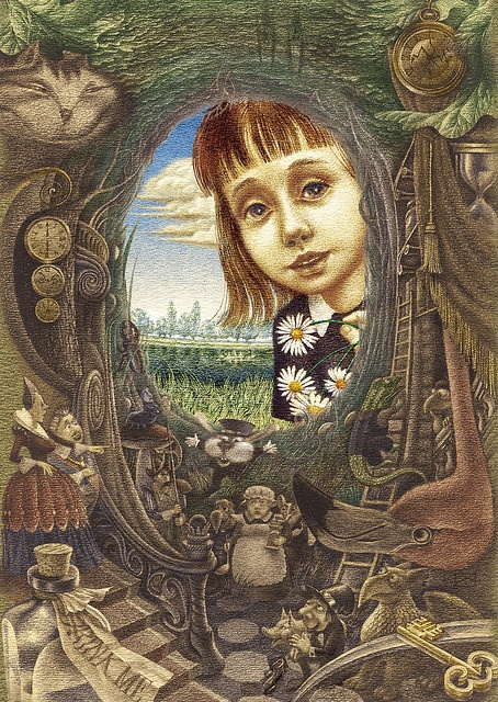 Alice's Adventures in Wonderland  Illustrated by Oleg Lipchenko