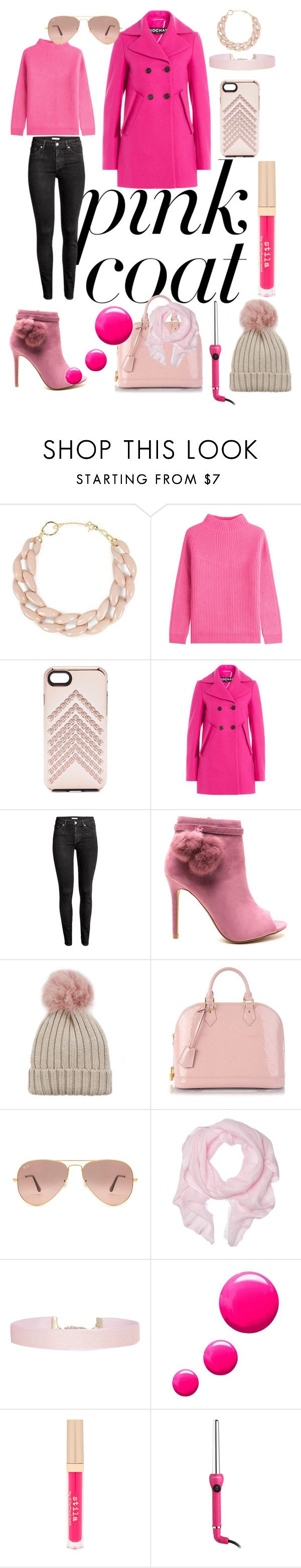 """Untitled #380"" by jennvsjewels ❤ liked on Polyvore featuring DIANA BROUSSARD, Diane Von Furstenberg, Rebecca Minkoff, Rochas, H&M, Jocelyn, Louis Vuitton, Ray-Ban, Love Quotes Scarves and Humble Chic"