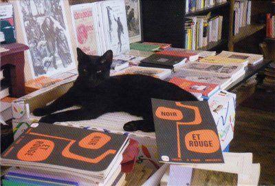 Librairie Les Chats Noirs - Cuisery - Le chat noir - cartoliste