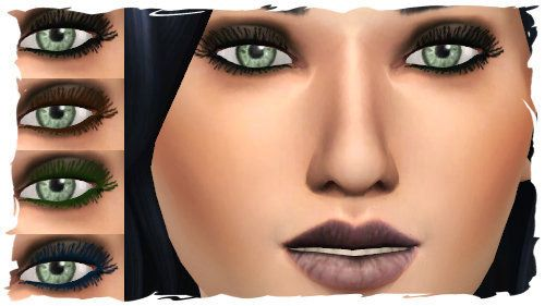 The Sims 4: Eyeliner