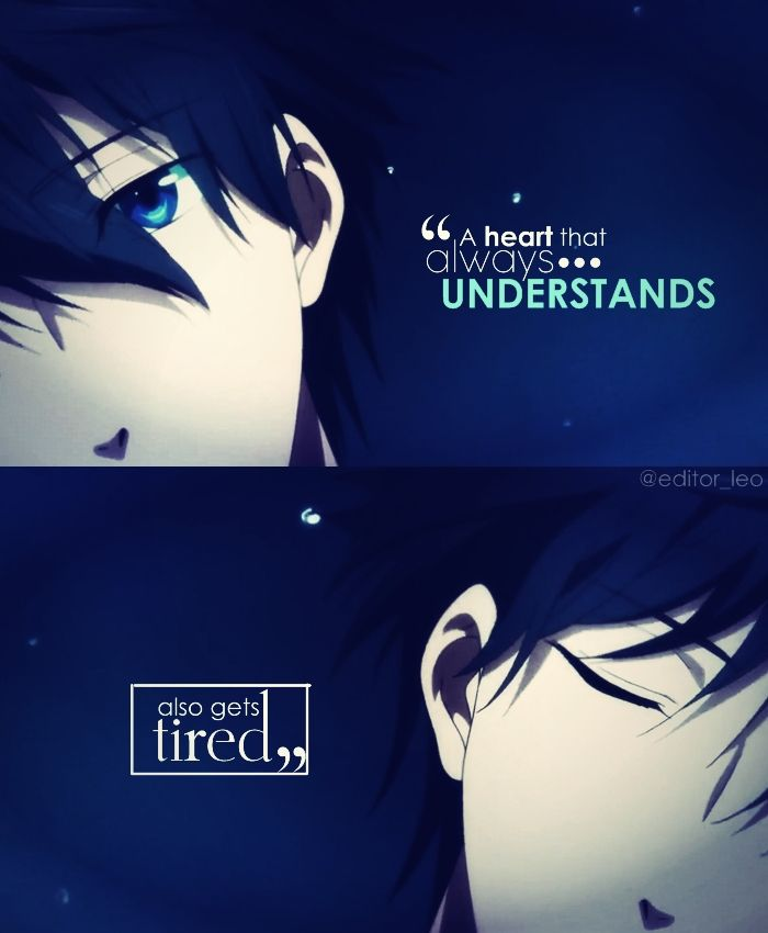 Pin On All About Anime Quotes Editor Leo