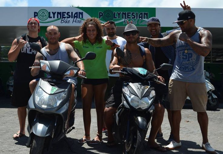 The Artists In Rarotonga with Polynesian Rental Cars!