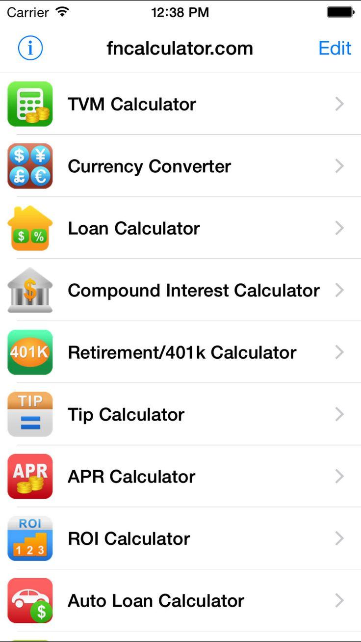 EZ Financial Calculators BusinessFinanceappsios (With