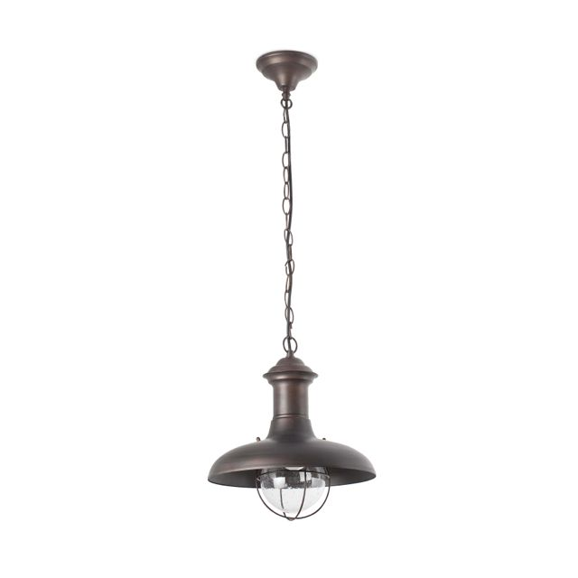 Lámpara Colgante tipo marinero rústico #jardin #iluminacion #lamparas