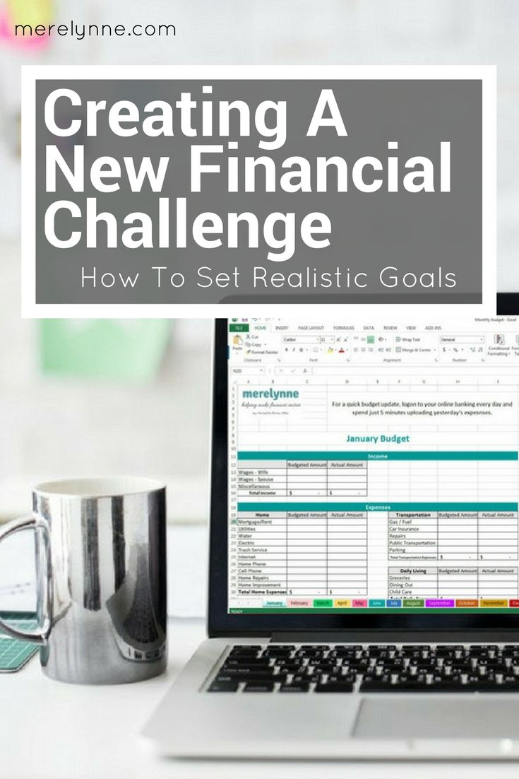 focus on finances challenge