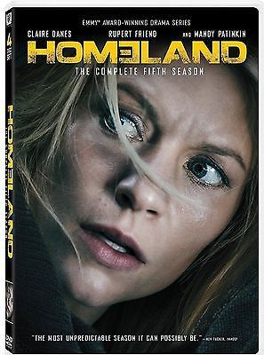 Homeland: Season 5 (DVD, 2017, 4-Disc Set) NEW SEALED