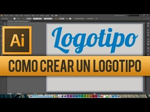 ▶ Tutorial Adobe Illustrator CS6 // Como crear un Logotipo - YouTube