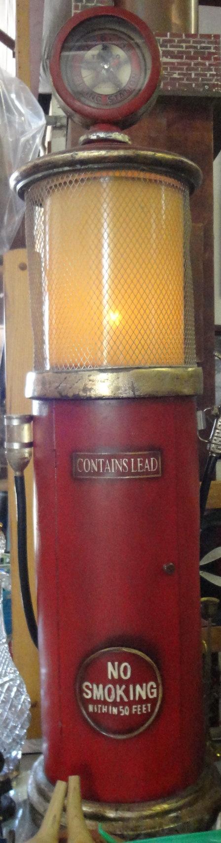 Vintage Wooden Texaco Gas Pump CD OR DVD Holder by tennesseehills, $70.00