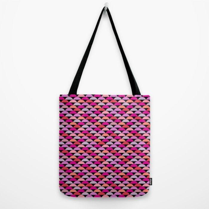 Retro Chic - Bright Tote Bag by Maritta Jones Design | Society6