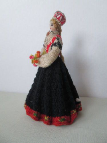 Latvian Woman With Dolls 119