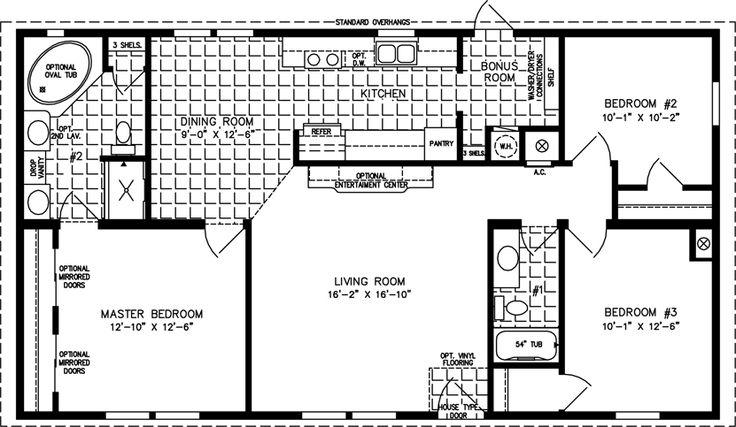 9 Best House Plans 28x52 Images On Pinterest Cozy Cabin