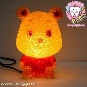 Lampu Karet Pooh  Lampu lucu ini bagus banget sebagai lampu tidur, karena sinarnya yang temaram, dan bentuk yang pastinya lucu !! ^^  Cocok sebagai koleksi pribadi maupun sebagai kado ulang tahun ^^  Untuk pertanyaan bisa langsung menghubungi kami di: - CS ONLINE PERI GIGI Shop (YM) - 021. 968.770.88 | 0852.1926.7171 ( SMS ONLY ) - PIN BB 27C19B7C  www.perigigi.com
