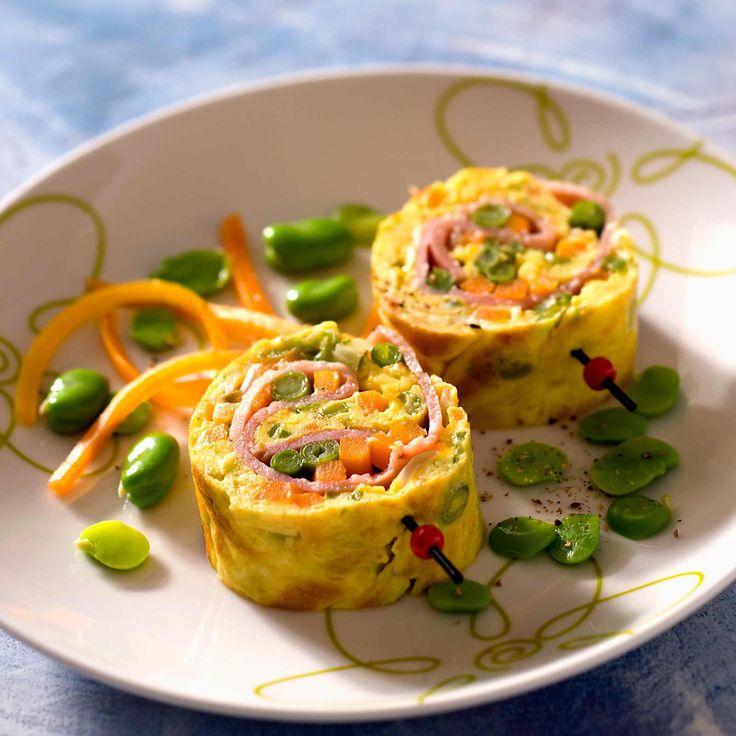 Découvrez la recette de l'omelette du jardinier