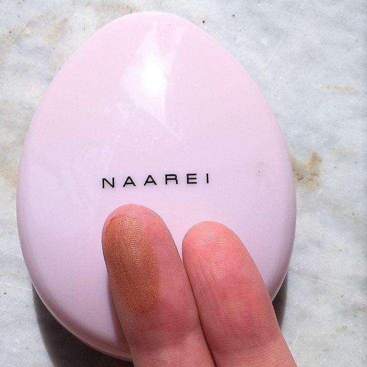 """#swatch della """"Terra Naturale Abbronzante"""" di #Naarei acquistata su www.detommasis.it"""