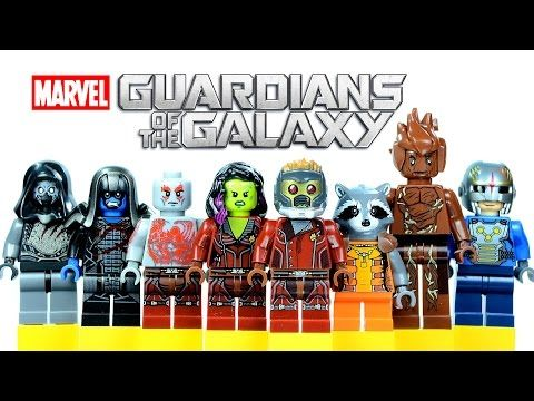 Guardians of the Galaxy LEGO Minifigures (Knockoffs) --- Lego ...