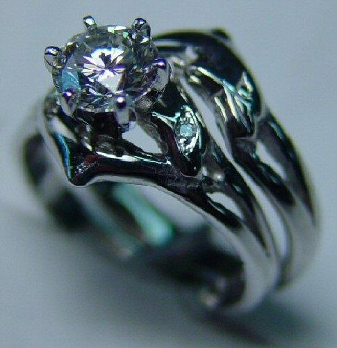 Engagement Ring - Custom dolphin ring in white gold with a stunning heart shaped center diamond and aquamarine side stones. Description from pinterest.com. I searched for this on bing.com/images