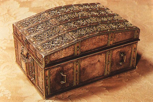 The casket that contained letters that implicated Mary in Darnley's murder.