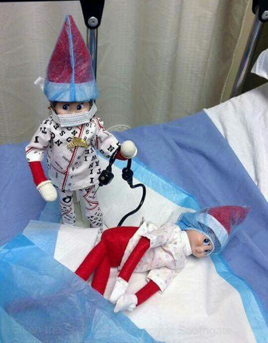 Elf Colonoscopy Christmas Pinterest Elves
