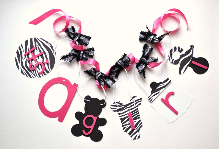 """Baby shower idea -- create a banner with Lilly's name instead of """"it's a girl""""?"""