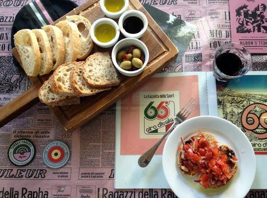 Rapha London Gazetta table cloth
