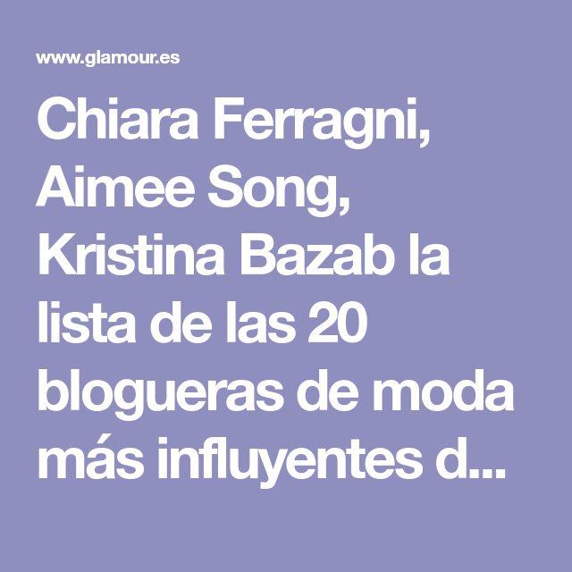 Chiara Ferragni, Aimee Song, Kristina Bazab la lista de las 20 blogueras de moda más influyentes de 2016 - Margaret Zhang, de Shine By Three | Galería de fotos 20 de 20 | Glamour