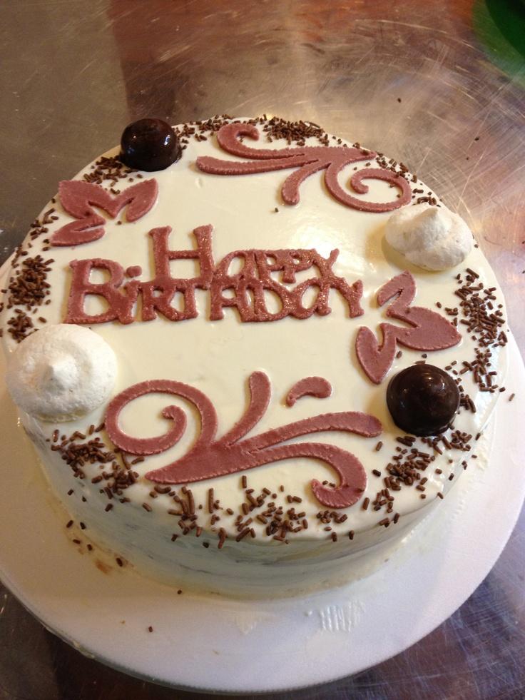 Happy Birthday Cake Dulces By Tiento Me Gustas