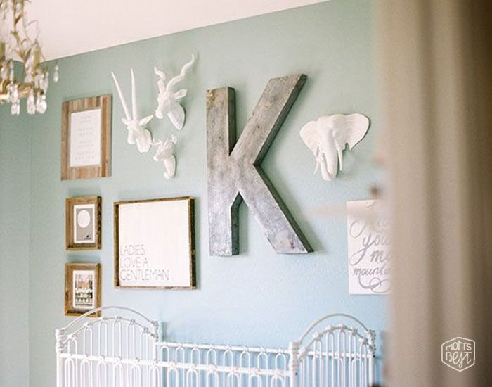 Mom's Best Network: On Trend Faux Animal Busts for the Nursery