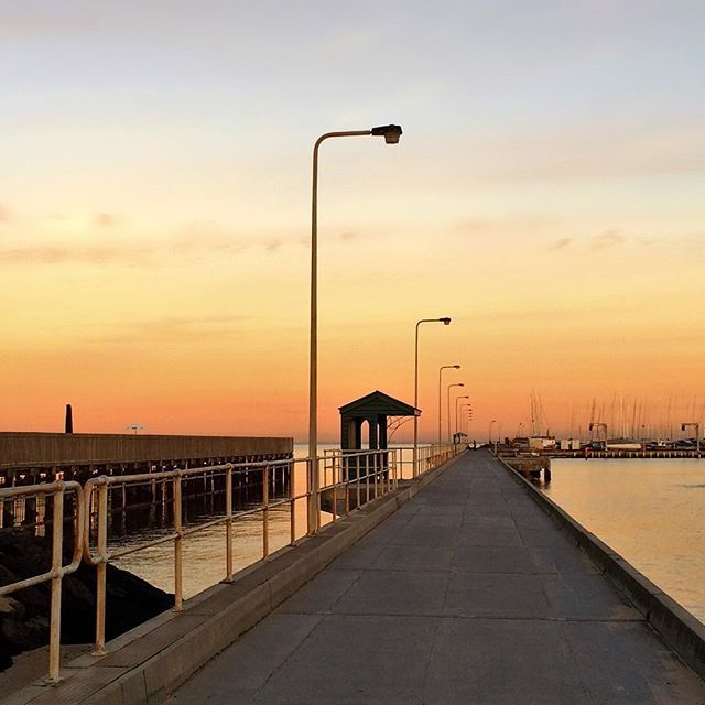 Brighton pier   #brighton #bayside #melbourne #melbournelifelovetravel #loveit #visitmelbourne #sunrise #skyline #morning #golden #beachlife #beautiful #picturesque #thatview #autumn #instamelbourne #instagood #instasunrise #pier #beach #magical #australia #instamorning #instaview