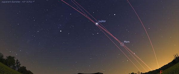 Stellarium is a free open source planetarium for your computer. It shows a realistic sky in 3D, just like what you see with the naked eye, binoculars or a telescope.