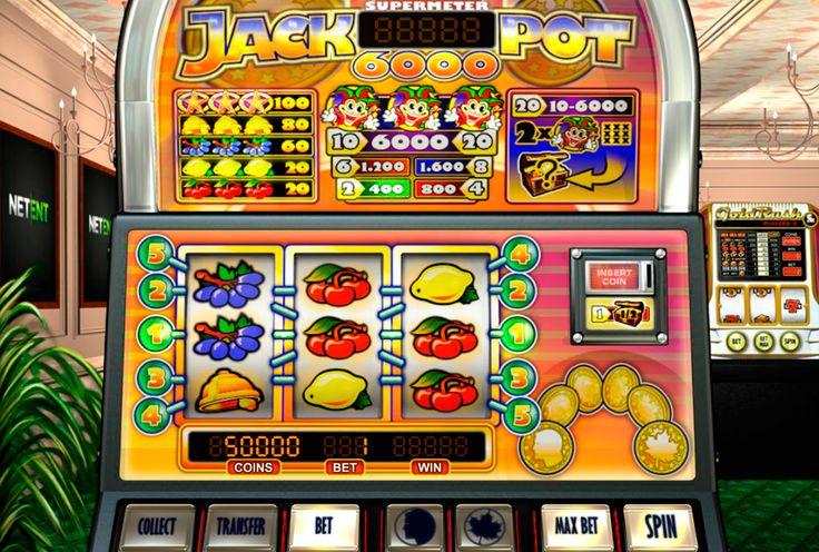 Jackpot 6000 van Net Entertainment neemt spelers mee recht naar het hart van hun favoriete casino van Las Vegas in dit tiered-jackpot fruitautomaat. Dit spel is ontworpen om te kijken net als een casino gokautomaat met zijn vorm en grafieken. Deze video slot heeft 5 winlijnen, 3 rollen, Scatter Symbool, Wild Symbool, een verdubbeling spel, een super meter spel. Deze gokkast is ideaal voor je als je een waaghals en avontuurlijke speler bent.