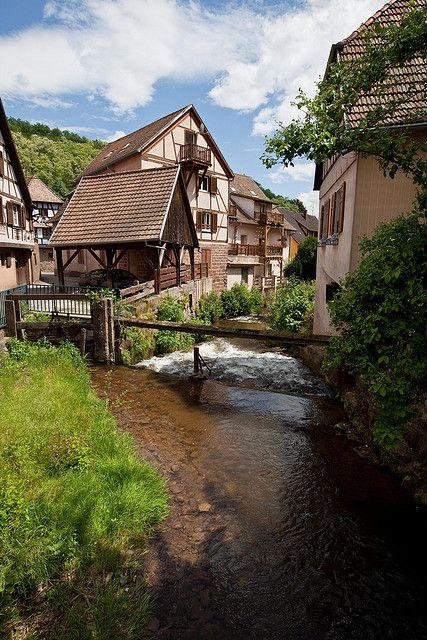 Andlau, Alsace, France