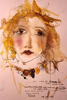 513 best images about Artist Faces:) on Pinterest ... Sabrina Ward Harrison Sketchbook