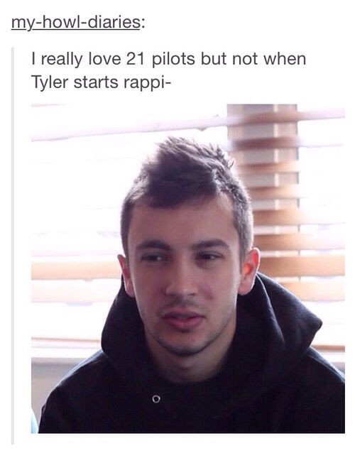 Leave. And it's Twenty One Pilots. Not 21 Pilots