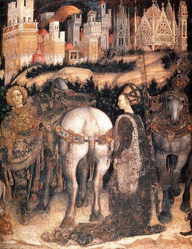 Pisanello: San Giorgio e la principessa, Verona