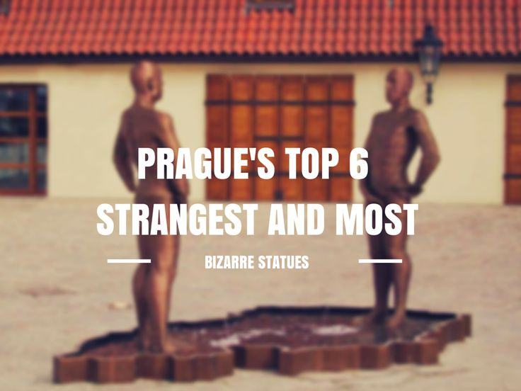 There is an abundance of strange statues in Prague that are controversial, querky, provocative and just outright odd! Here is a list of my Top 6 favorites!