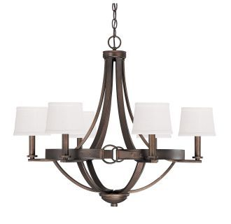 View the Capital Lighting 4206-546 Chastain 6 Light 1 Tier Chandelier at LightingDirect.com.