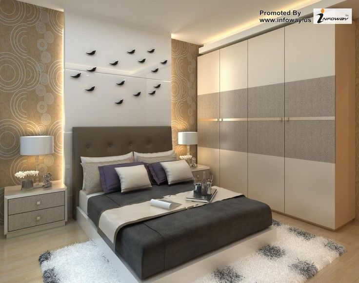 Furniture Cool Interior Bedroom Decoration With Modern Wardrobe Designs Ideas And Bedside Table Latest Designer Trends 2015
