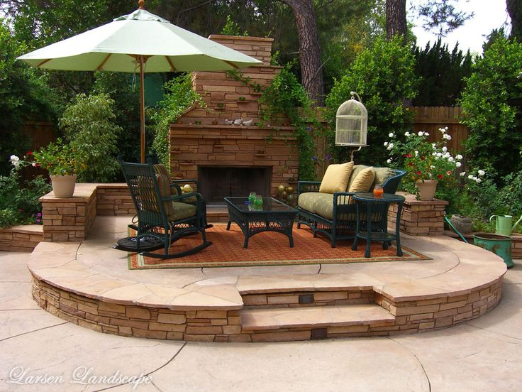 484 best landscaping & outdoors images on pinterest | backyard ... - Outdoor Patio Landscaping Ideas